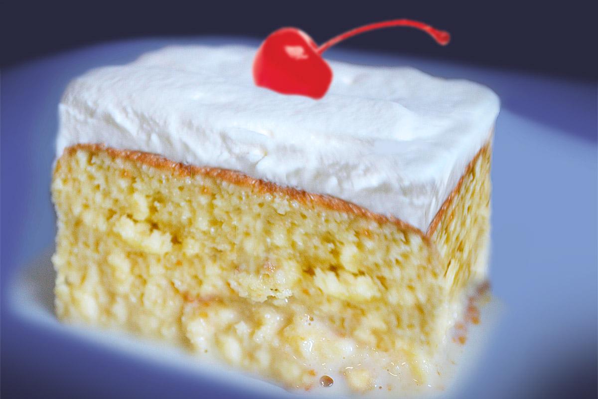Con Leche Cake Recipe